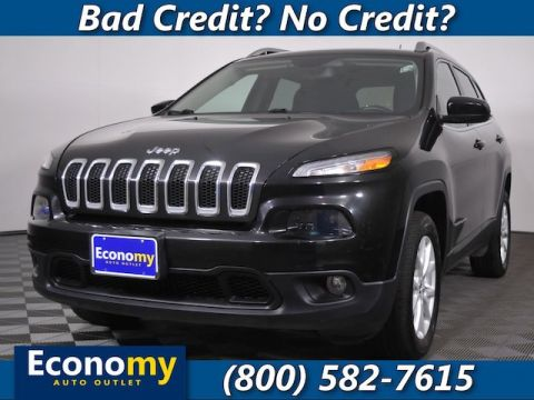 Pre-Owned 2015 Jeep Cherokee Latitude Four Wheel Drive SUV