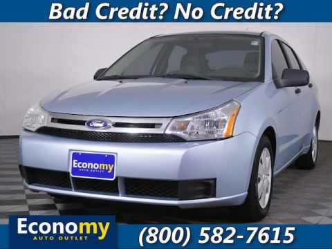 Pre-Owned 2008 Ford Focus S FWD Sedan