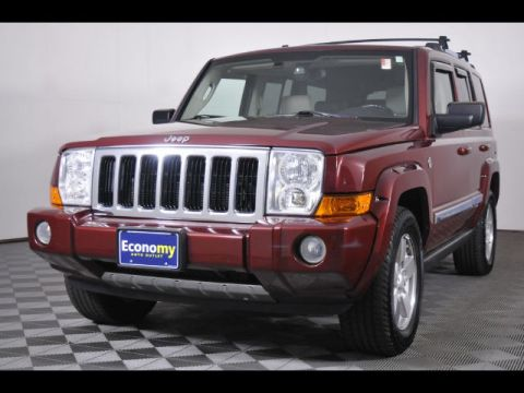 Pre-Owned 2007 Jeep Commander Limited 4WD